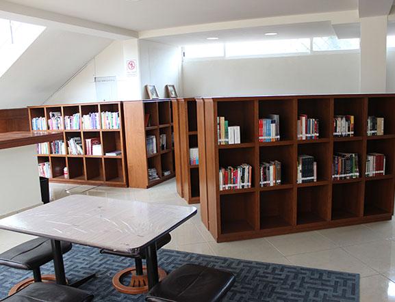 Biblioteca para alumnos Ibime