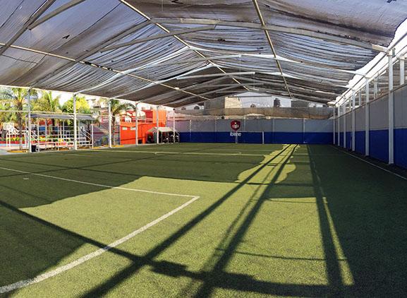 Cancha de Futbol Soccer Plantel Secundaria