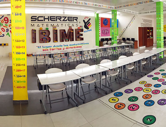 Salón especial de Matemáticas Scherzer