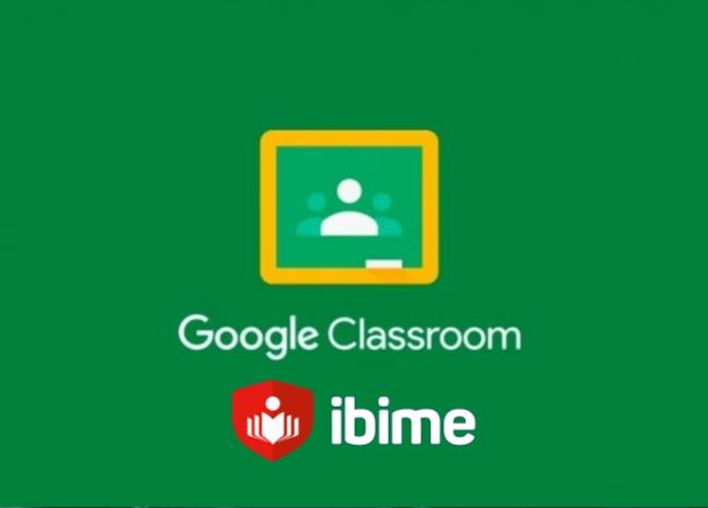 google classroom e ibime