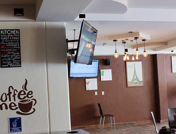 Amenidades Cafetería Bachillerato