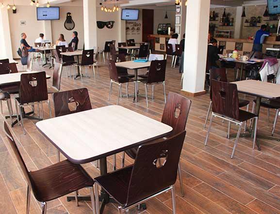 Espacio Cafetería Bachillerato