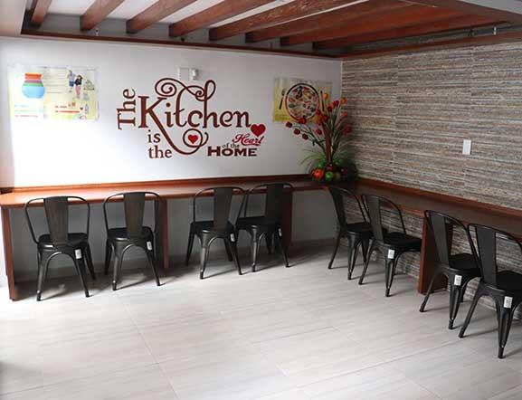 Area de Cafetería Lagos