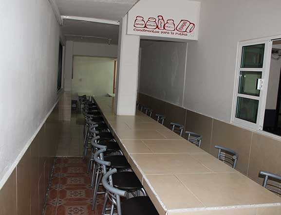 Comedor Plantel Lagos