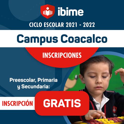 Inscripciones Campus Coacalco