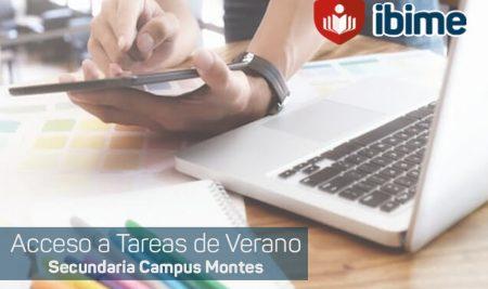 .: Secundaria Montes   Acceso a tareas de verano :.