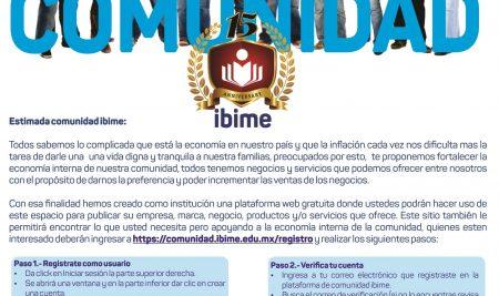 . .: COMUNIDAD DE NEGOCIOS IBIME :. .