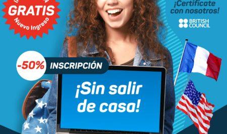 Curso de Inglés & Francés ONLINE