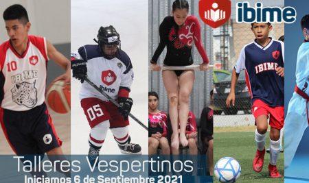 Ibime | Talleres Vespertinos 2021 – Formulario