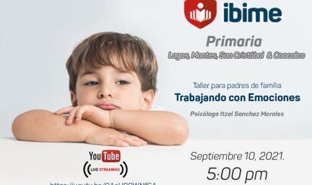 .: Primaria IBIME | Taller para padres de familia :.