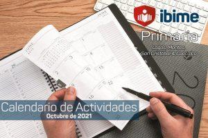 calendario primaria octubre